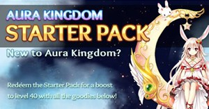 Free Aura Kingdom Starter Pack Keys