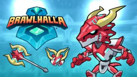 Brawlhalla Mecha Ragnir Skin and Weapon Skin Key Giveaway