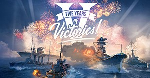 World of Warships 5th Year Anniversary Invite Code