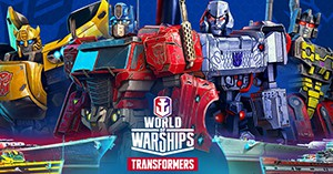 World of Warships Transformers Invite Codes