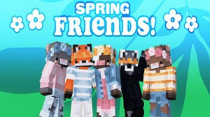 Minecraft - Free Spring Friends Skin Pack