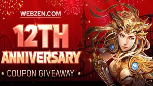 MU Online and C9 - Webzen 12th Anniversary Key Giveaway
