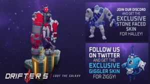 Drifters Loot the Galaxy: 3 Steam Key Giveaways